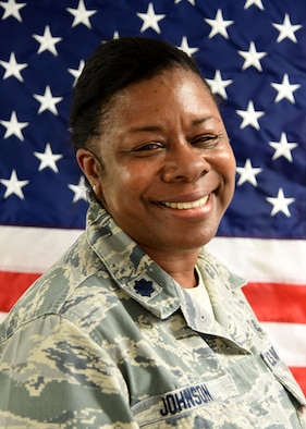 Lt. Col. Rosalind Johnson, 36th Aeromedical Evacuation Squadron, participated in Patriot Warrior Aug. 8-22, 2018. Patriot Warrior is an Air Force Reserve Command exercise that provides an opportunity for Reserve Citizen Airmen to train with joint and international partners in airlift, aeromedical evacuation and mobility support operations. (U.S. Air Force photo/Maj. Marnee A.C. Losurdo)