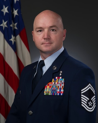Senior Master Sgt. Scott Piper, U.S. Air Force, official photo