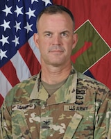 Colonel Curtis Taylor, 1st Infantry Division Chief of Staff