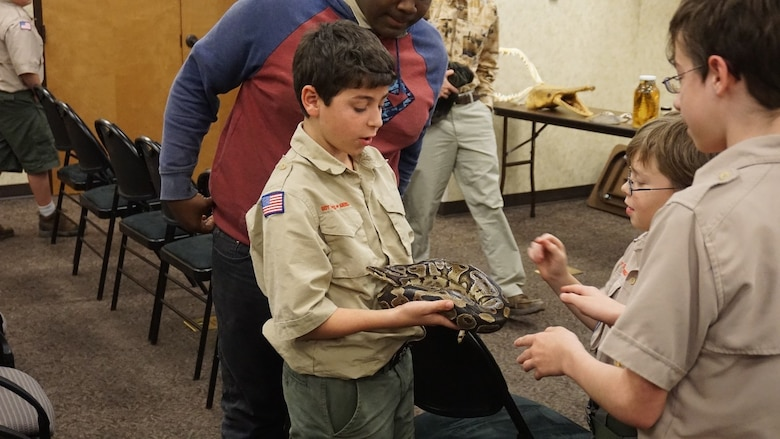 Boy scouts hold annual campout