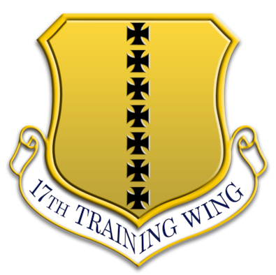 The 17th Training Wing emblem.