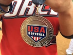 The U.S. Armed Forces Women's Softball Team competes in the 2018 USA Softball National Women's Open Slow Pitch Championship at WVO Softball Complex in Portland, Ore. from August 24-26.  (Photo by Mr. Michael Richardson, Head Coach - Released)