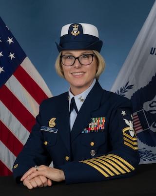 Photo of Command Master Chief Lori Fields