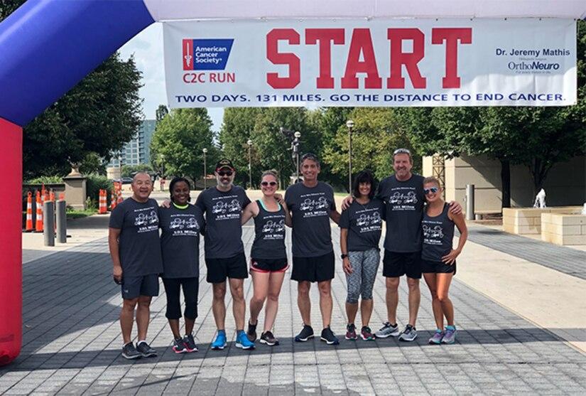 DLA Land and Maritime associates race across Ohio