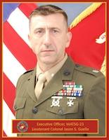 Lieutenant Colonel Jason S Guello, Executive Officer, Marine Aviation Training Support Group 23, NAS Pensacola, Pensacola, FL