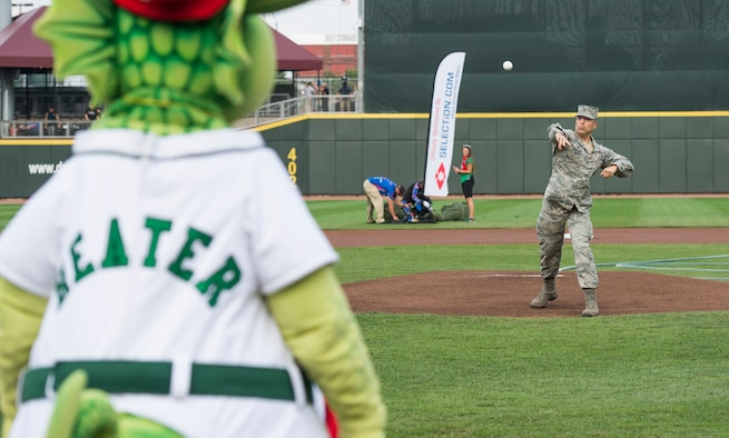 Dayton Dragons host military appreciation night
