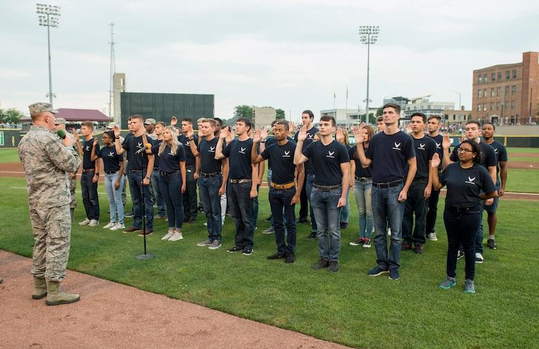 Dayton Dragons host military appreciation night