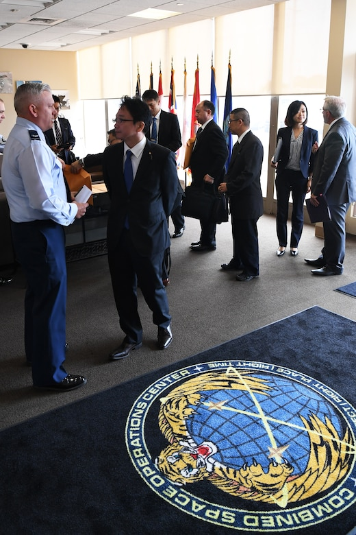 Japanese Vice Minister of Defense visits Vandenberg