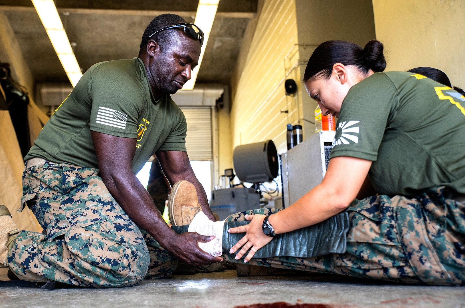 3rd Medical Battalion Participates in Navy Medicine Augmentation Program Training