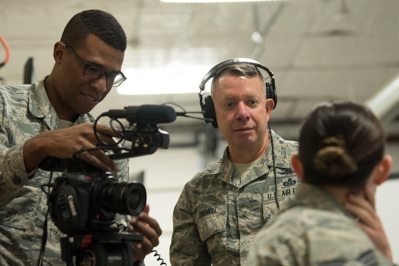 shadow leadership 50th Space Wing AFSPC video camera
