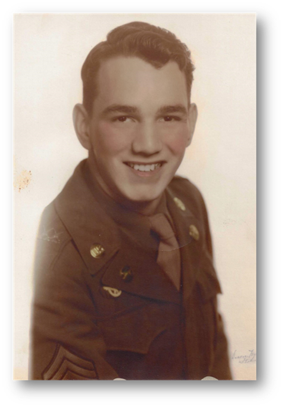John William Moyes, the father of John Moyes, the 28th Bomb Wing historian, was a veteran of the U.S. Army. He served during Occupation of Korea and was also a police officer for 22 years. (Courtesy photo)