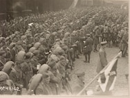 New York City draftee Soldiers made history as the Lost Battalion in October 1918