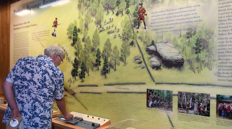 National park exhibit opens with loaned Hanscom artifacts