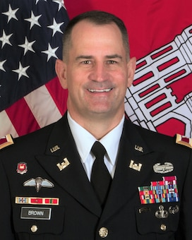 Col. Kevin S. Brown became the Deputy Commander of the Southwestern Division, U.S. Army Corps of Engineers, on Aug. 13, 2018.