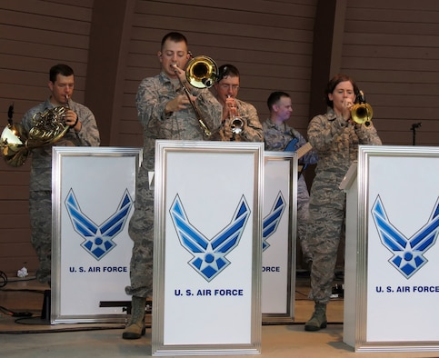 The United States Air Force Band of Flight, stationed at Wright-Patterson AFB, Ohio presents more than 240 performances annually, providing quality musical products for official military functions and ceremonies as well as civic events and public concerts. Since its founding in 1942, the band has performed for presidents and vice presidents, visiting heads of state, cabinet officers, members of congress, U.S. and foreign military leaders, and millions of Americans and foreign citizens.