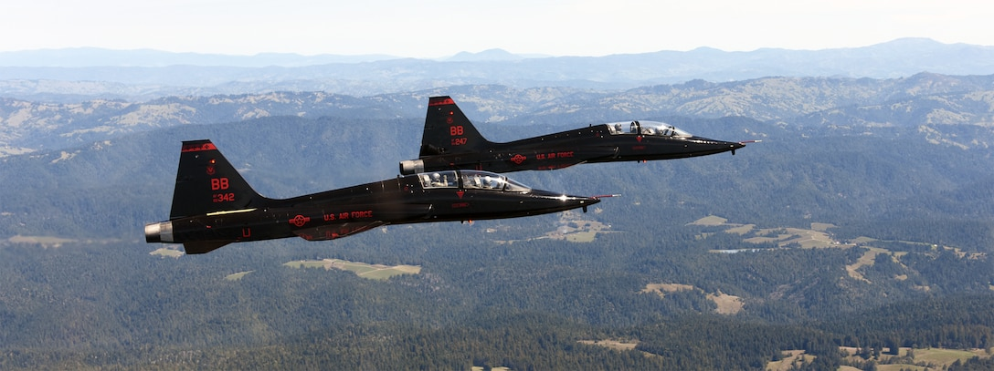 The Air Force uses the T-38 for joint specialized undergraduate pilot training. DLA Aviation manages roughly 70 percent of the more than 18,000 parts for the plane's jet engines.