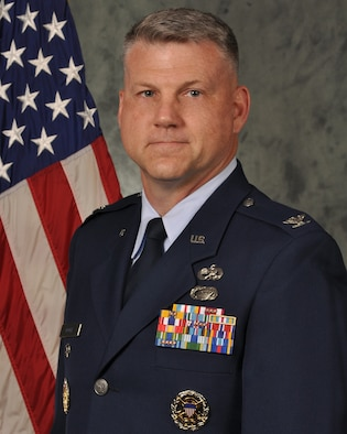 Col. Brian R Moore is the vice commander of the Air Force Sustainment Center, headquartered at Tinker Air Force Base, Oklahoma.