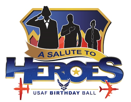 The logo for the 2018 USAF birthday ball. (U.S. Air Force graphic by Josh Plueger)