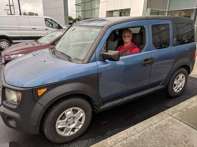 Jim and his new car