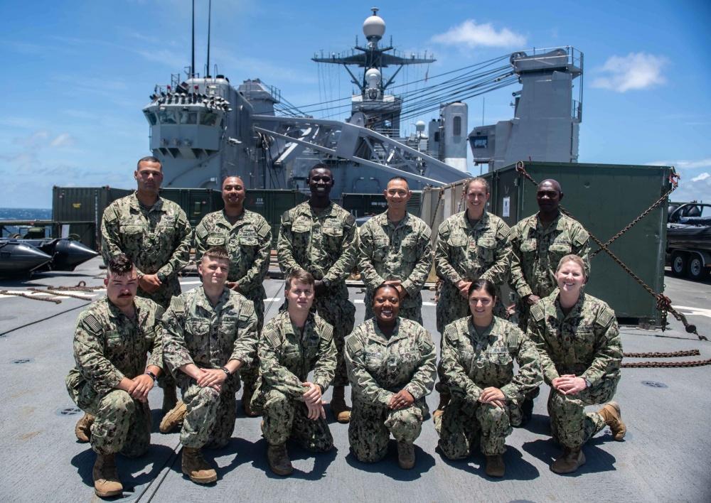 U S  Navy Medical Team Begins Subject Matter Exchanges in Colombia