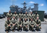 Southern Partnership Station 2018 Fleet Health Engagement Team poses for a photo.