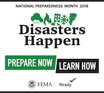 National Preparedness Month graphic