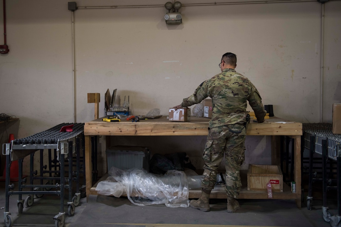 """As the """"backbone"""" of the 455th Air Expeditionary Wing, the 455th Expeditionary Logistics Readiness Squadron keeps the mission moving at Bagram Airfield."""