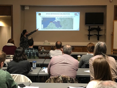 U.S. Army Corps of Engineers, Buffalo District Regulators undertake a big outreach effort to provide consultants information about the 2015 Clean Water Rule that took effect on August 16, 2018.