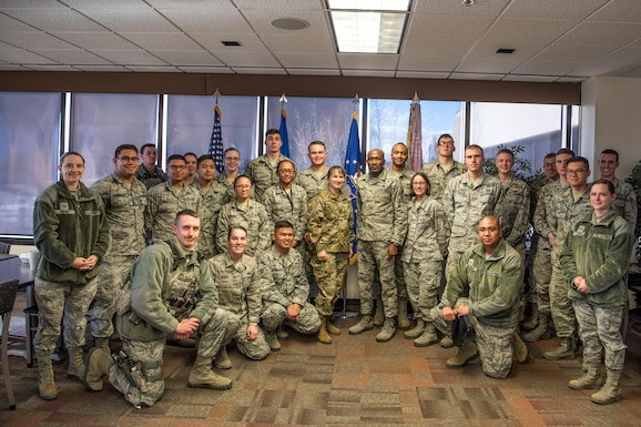 Airman leadership support lunch