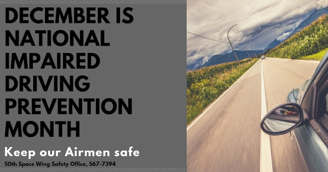 National Impaired Driving Prevention Month