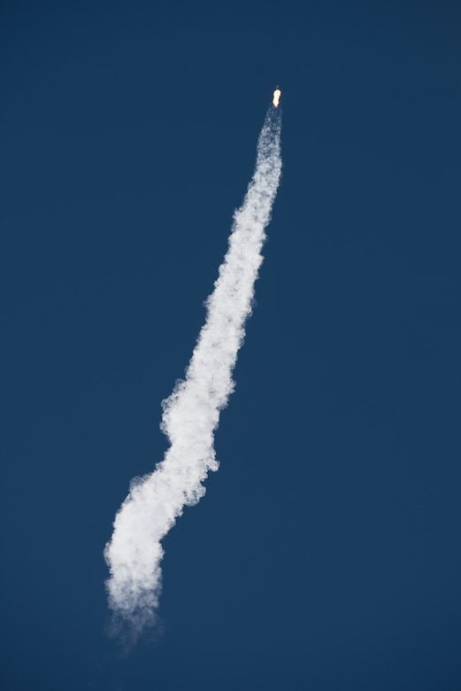 A SpaceX Falcon 9 rocket, carrying the Spaceflight SSO-A: SmallSat Express, launches from Space Launch Complex-4E at Vandenberg Air Force Base, CA, on Dec. 3, 2018 at 10:34 a.m. PST. (U.S. Air Force photo by Michael Peterson/Released)