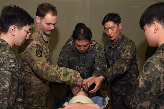 Gimhae Hospital hosts first US/ROK trauma training
