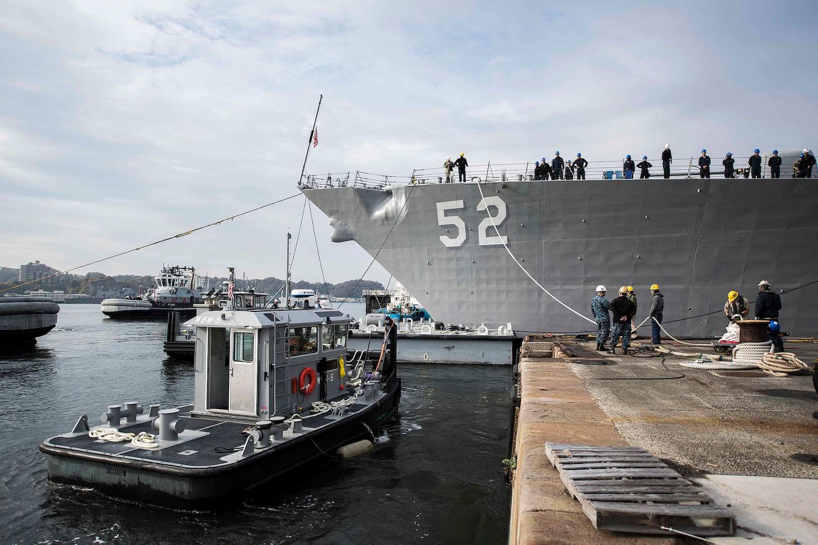 USS Barry completes dry dock period in Japan