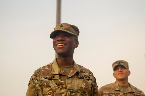 Promotion at 300th Sustainment Brigade