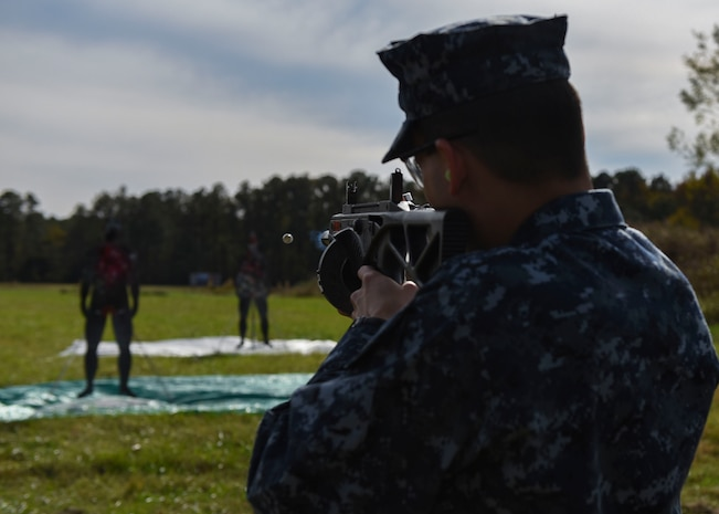 Joint Forces Staff College Non-Lethal Weapons Elective Course, Range Day