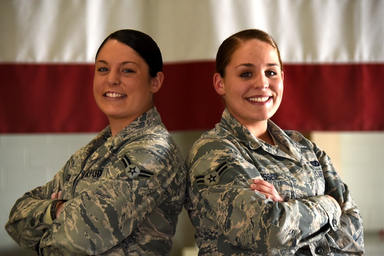 twin sisters conquer fire academy  u0026gt  goodfellow air force