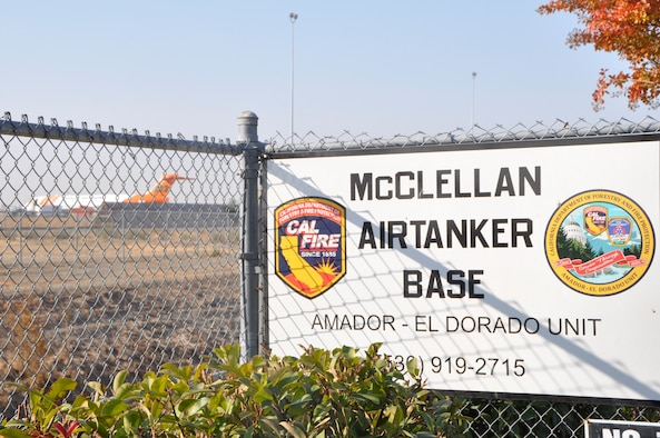 Former McClellan Air Force Base, which closed in July 2001, is an ideal location for Cal Fire aircraft as the base was known as a logistics center housing various aircraft.