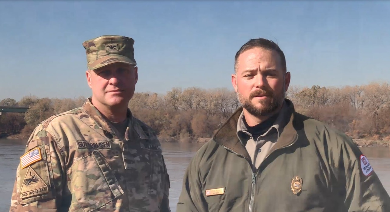 Corps of Engineers urge caution when recreating this winter. Click link below to learn more.