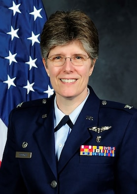 Colonel Meredith A. Goodwin, 349th Medical Group Commander