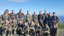2/3 Battalion Fire Support Team visited Iwo Jima
