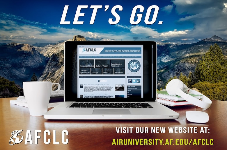 On November 29, the Air Force Culture and Language Center debuted its new website which is now hosted by the American Forces Public Information Management System (AFPIMS).