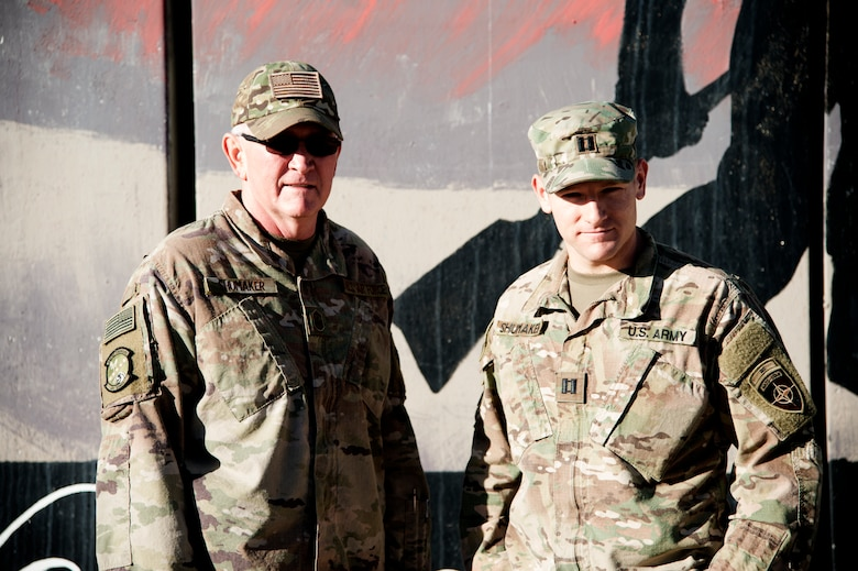 Just a few weeks before leaving for his deployment, Tim was under the impression he would be serving in another country in the Central Command area of responsibility, but then learned he was redirected to Kandahar--just 400 miles away from his son.