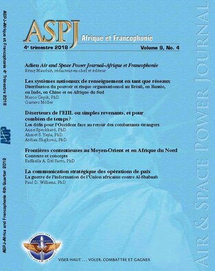ASPJ-A&F 4th Quarter 2018 Journal Cover