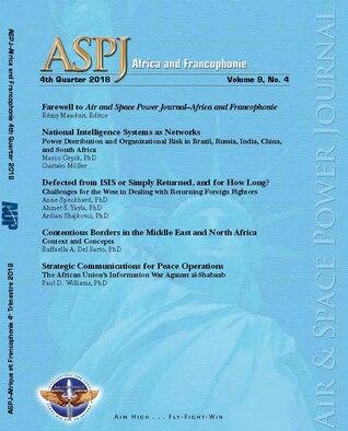 ASPJ-A&F 4e trimestre 2018 Journal Cover