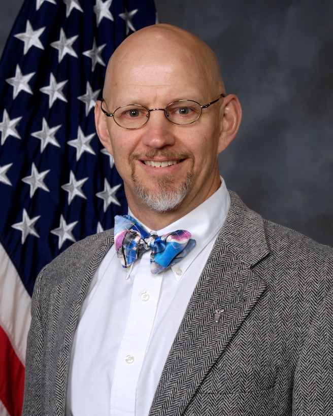 Dr. Daniel B. Miracle, Air Force Research Laboratory Materials and Manufacturing Directorate senior scientist for Nanotechnology. (Official U.S. Air Force Photo)