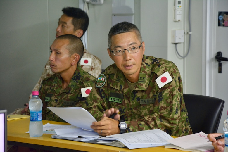 Japanese leadership express interest in enhancing strategic partnership with U.S. forces in Horn of Africa