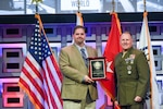 Transportation employees receive award at Defense conference