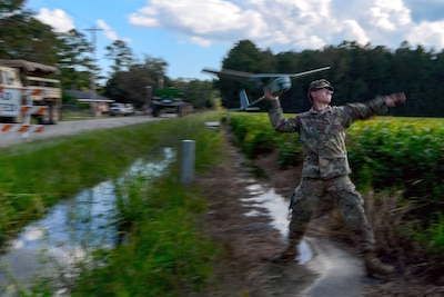 Unmanned aircraft enhances Army Guard response capabilities