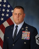 Official photo of Chief Master Sergeant William D. Adams III