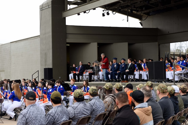 The San Angelo community thanked veterans for their service.